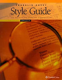 Franklin Covey Style Guide for Business and Technical Communication (+ CD-ROM) Издательство: Franklin Covey Мягкая обложка, 448 стр ISBN 188321982-5 инфо 3329m.