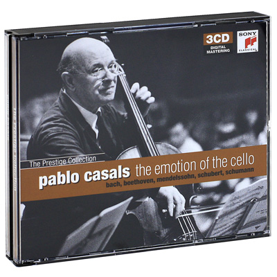 Pablo Casals The Emotion Of The Cello (3 CD) Серия: The Prestige Collection инфо 7640e.